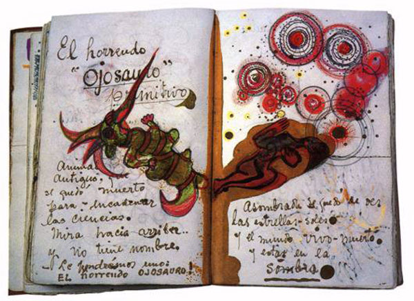 Pages from Frida Kahlo's notebook