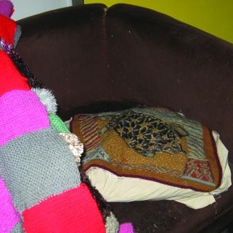The brown chair. Courtesy of Anna Robinson.