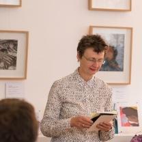 Sharon Morris, Poetry of Place at Enitharmon Books © Stuart Leech, courtesy of Enitharmon.
