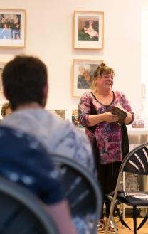 Anna Robinson, Poetry of Place at Enitharmon Books © Stuart Leech, courtesy of Enitharmon.