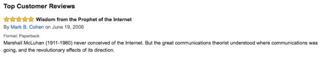6. Amazon comment